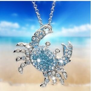 Beautiful Sea Crab necklace and pendant